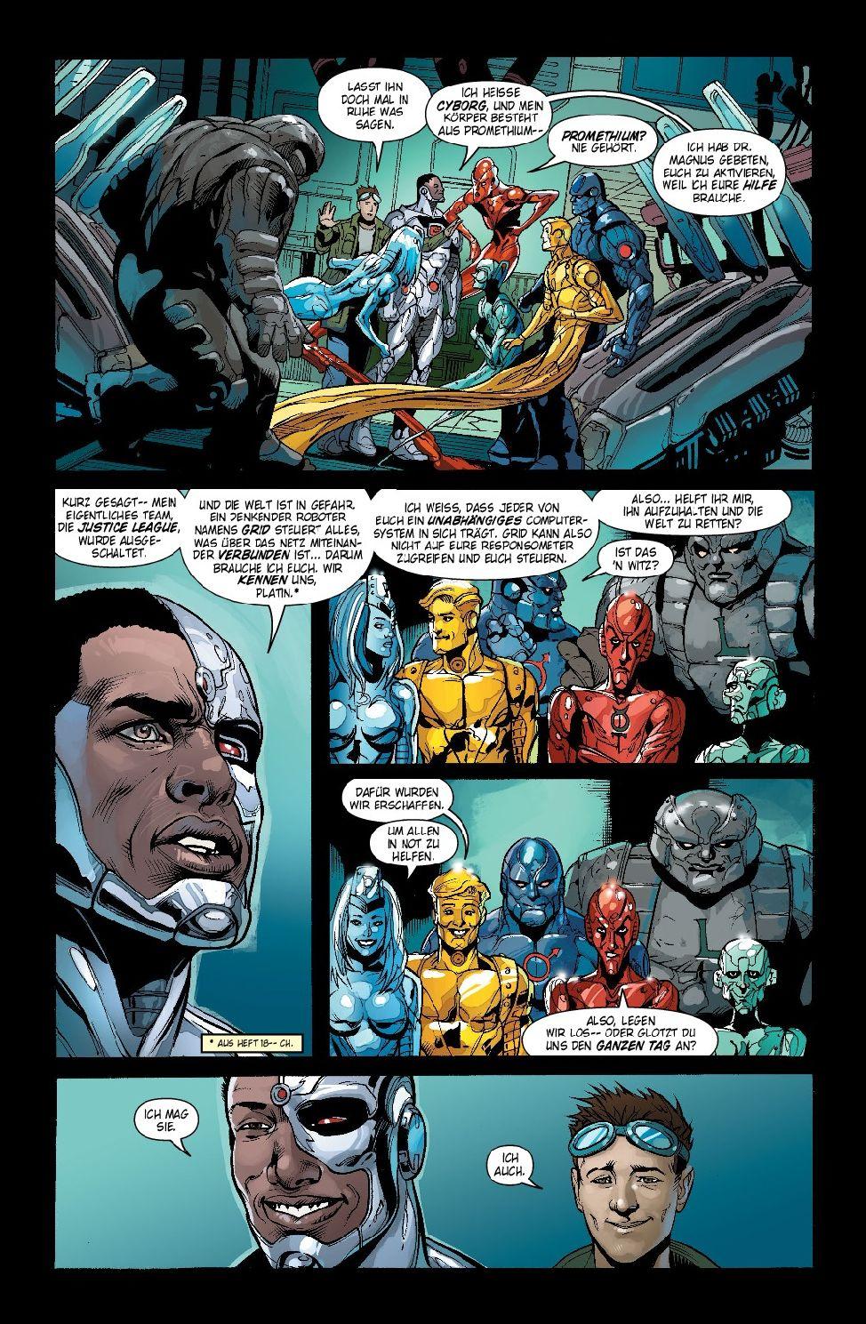 Justice League 30 - Comic | pressakey.com